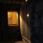 View toward internal stairwell