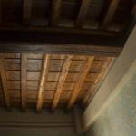 Wooden ceiling, after restoration