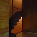Internal view, stairwell, detail