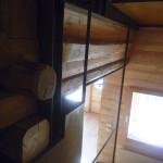 Staircase parapet, detail