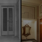 Bath, before and after restoration