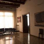 Main salon, prospective view