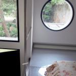 Soppalco, vista verso il giardino