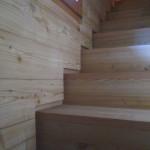 Incontro parete e gradini, dettaglio
