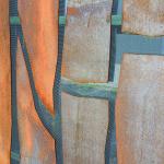 Driveway gate, detail