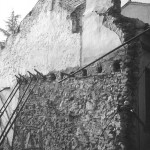 Particolare, trama costruttiva parete laterale