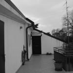 Terrazzo, vista verso l'ingresso dell'abitazione