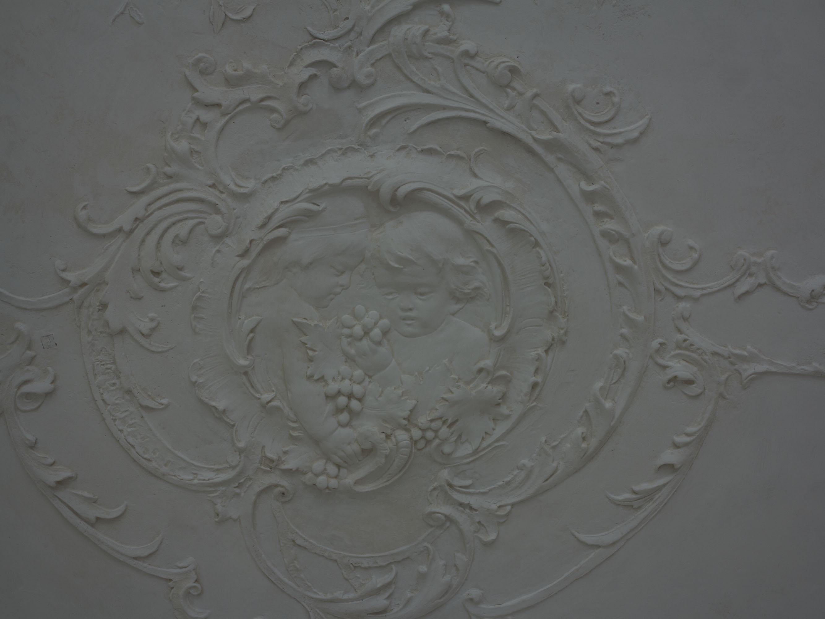 ... Soffitto Decorato Gesso: Realizzazioni:. stucchi cornici volte in