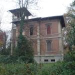 Prospetto nord prima del restauro