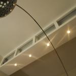 Sala da pranzo, vista verso il soffitto