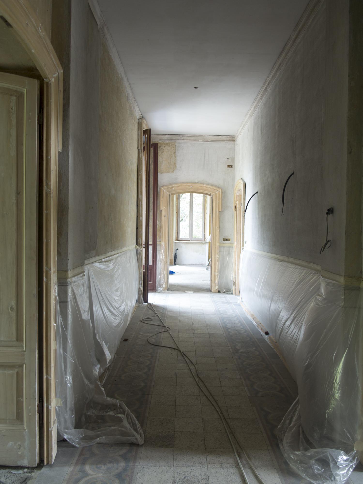 Primo piano, pavimenti   Architetto Cristina Rampazzo