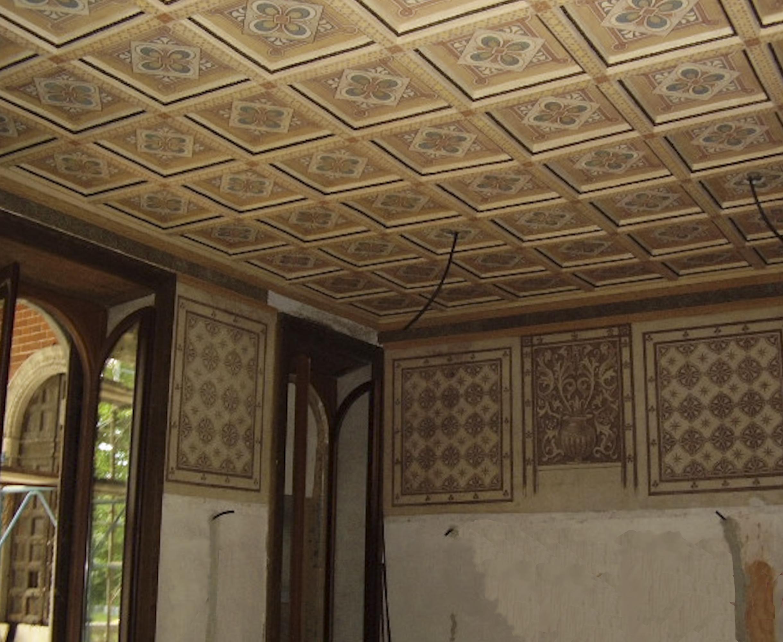 Decorazioni Soffitto Gesso: Camera da letto con ...