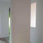 Zona giorno, particolare pareti